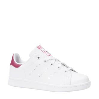 originals Stan Smith C sneakers wit/fuchsia kids