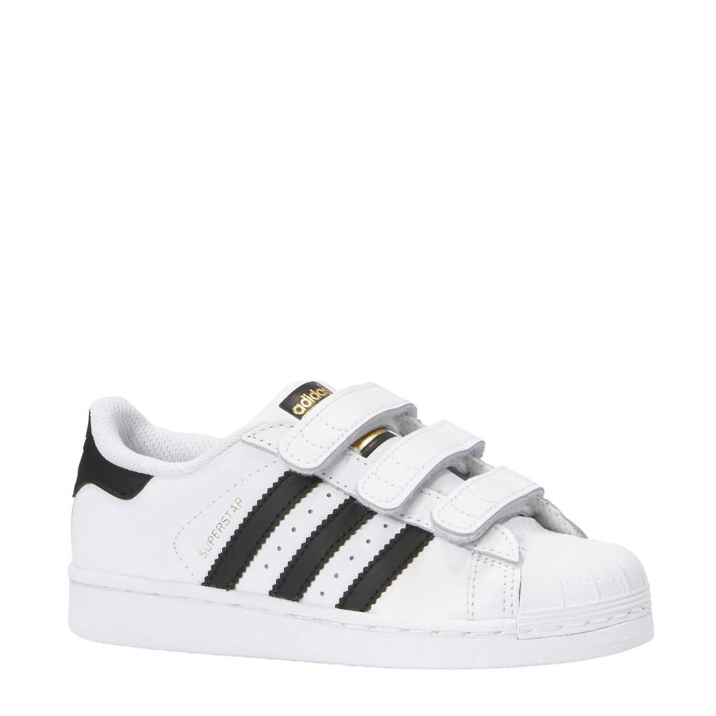 adidas originals  Superstar wit/zwart, Wit/zwart
