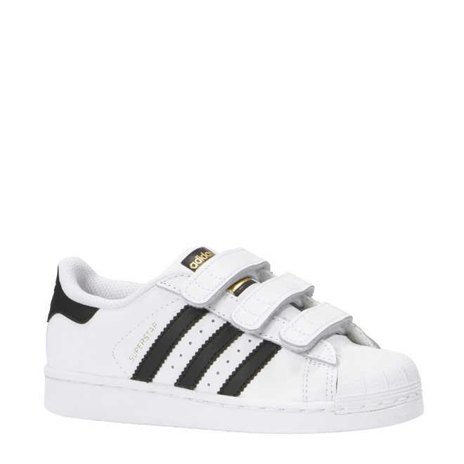 673eef494a2 adidas. originals Superstar wit/zwart