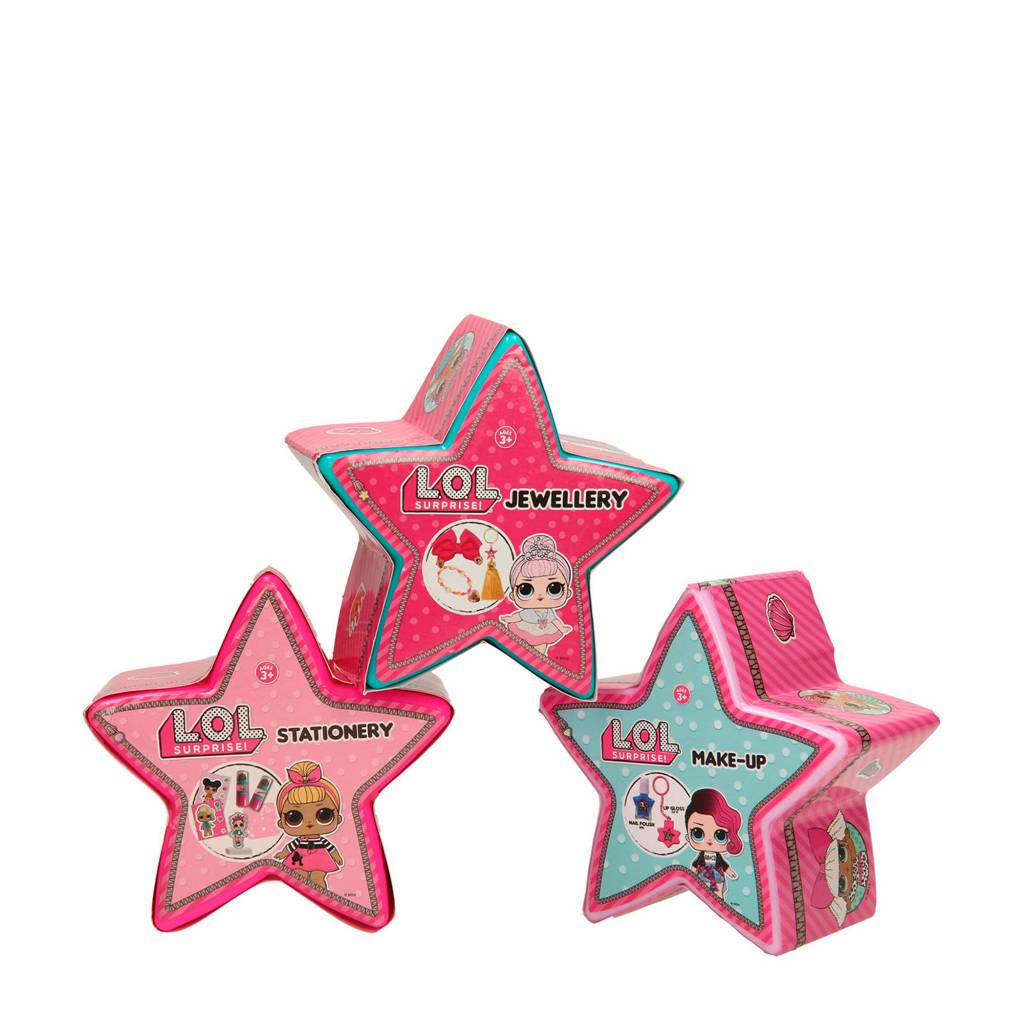 L.O.L. Surprise! verrassings sterren 3-pack set 2