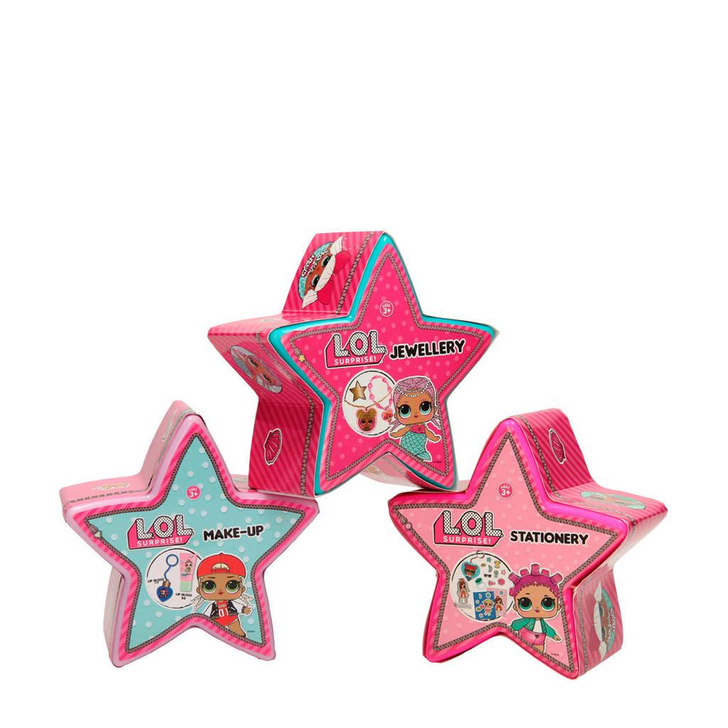 L.O.L. Surprise! verrassings sterren 3-pack set 6