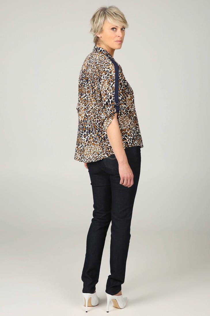 Cassis Cassis met blouse blouse panterprint met panterprint FrwqFB0