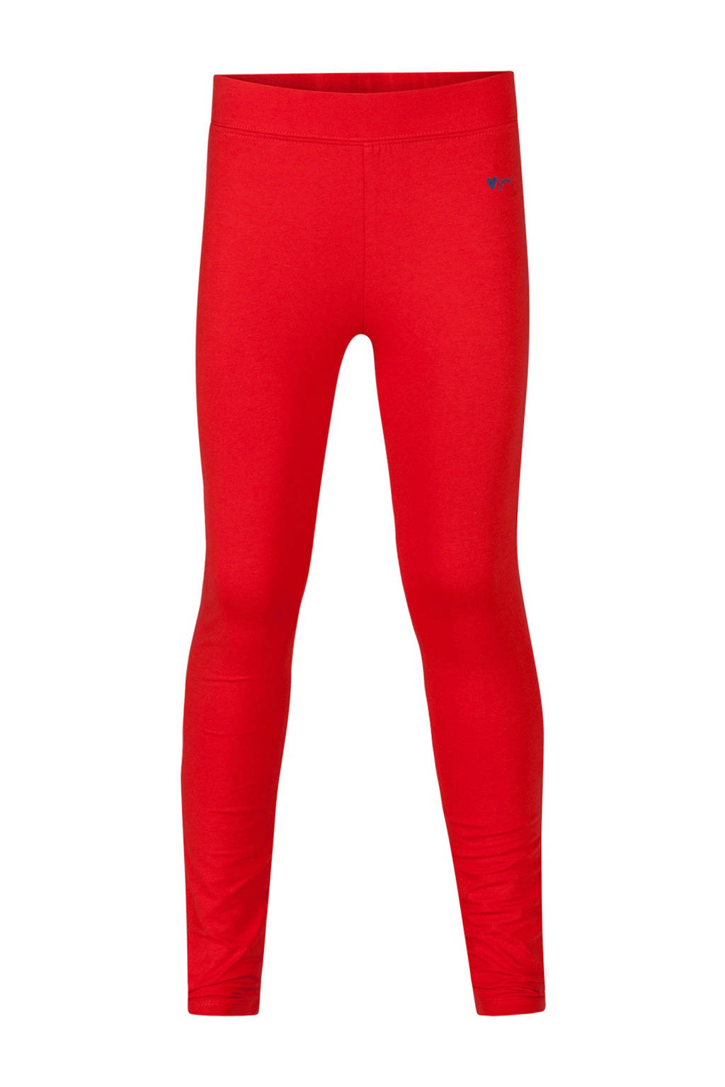 WE Fashion Fundamental legging rood, Rood