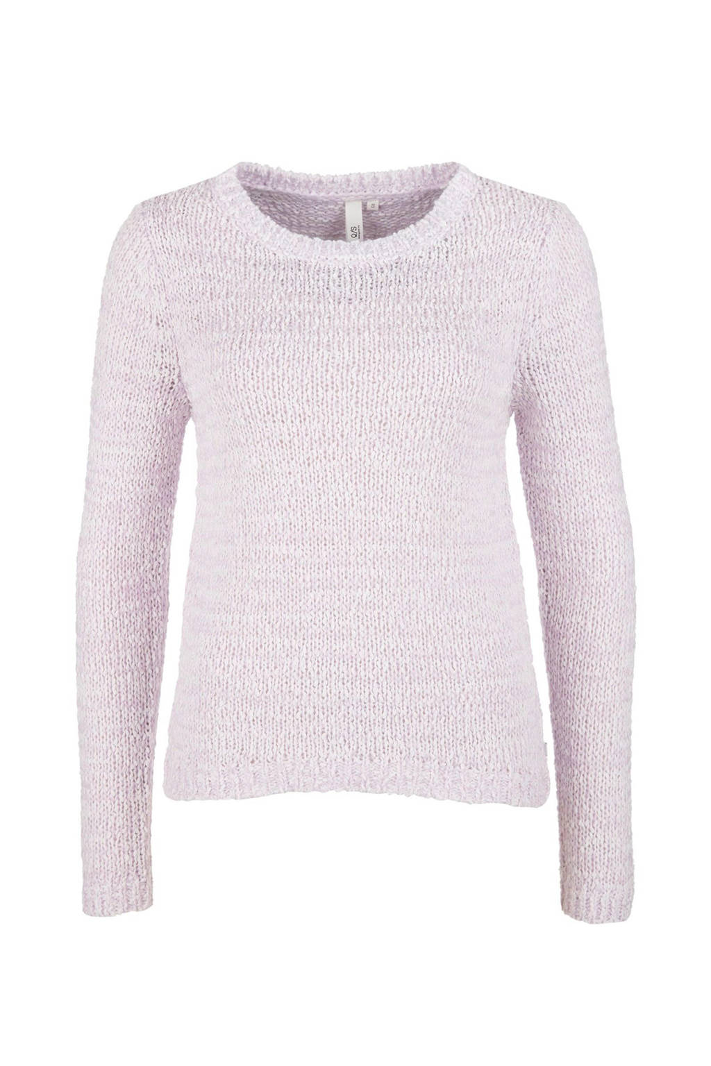 Q/S designed by gebreide sweater paars, Paars