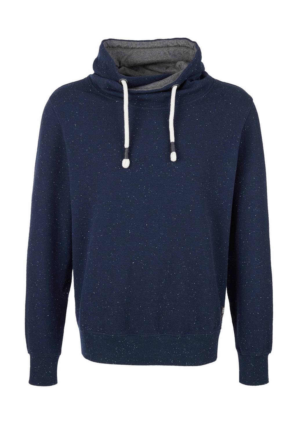 s.Oliver gestipte sweater donkerblauw, Donkerblauw
