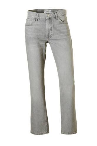 straigt fit jeans grijs