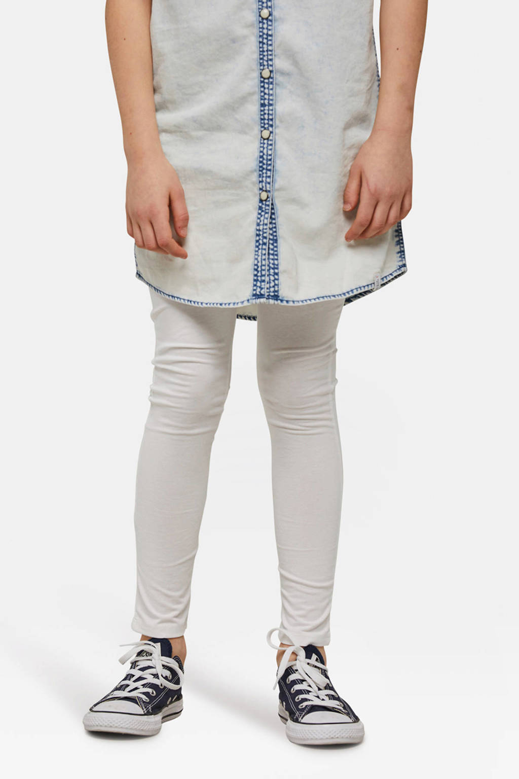 WE Fashion Fundamental legging wit, Wit