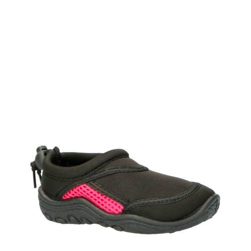 Campri waterschoenen zwart/roze kids