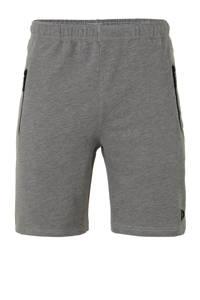 Donnay   joggingshort grijs gemeleerd, Grijs gemeleerd