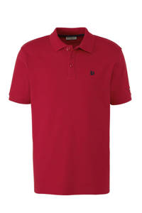 Donnay   sportpolo rood, Rood