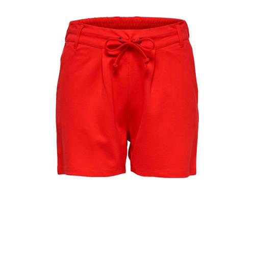 JACQUELINE DE YONG straight fit korte broek rood kopen