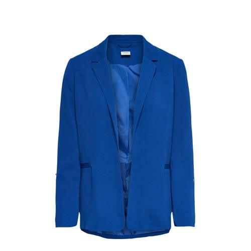JACQUELINE DE YONG blazer kobalt blauw kopen