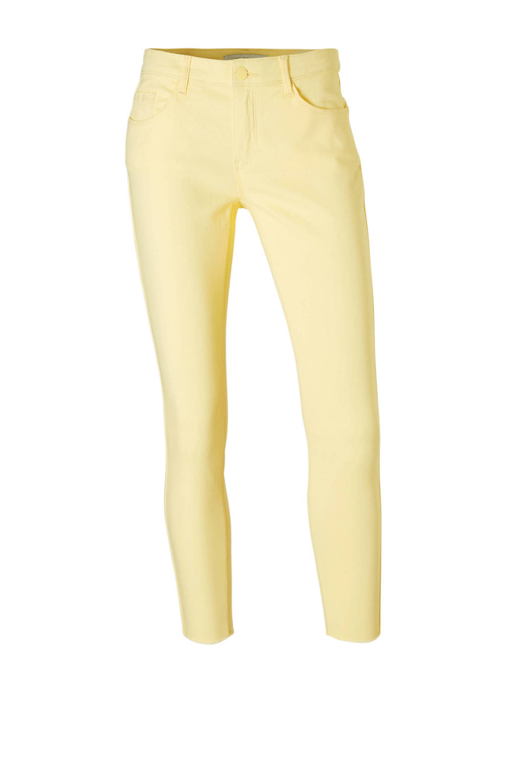 JACQUELINE DE YONG skinny jeans, Geel