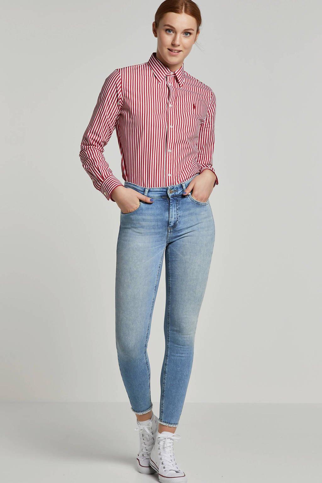 ONLY skinny jeans, Lichtblauw