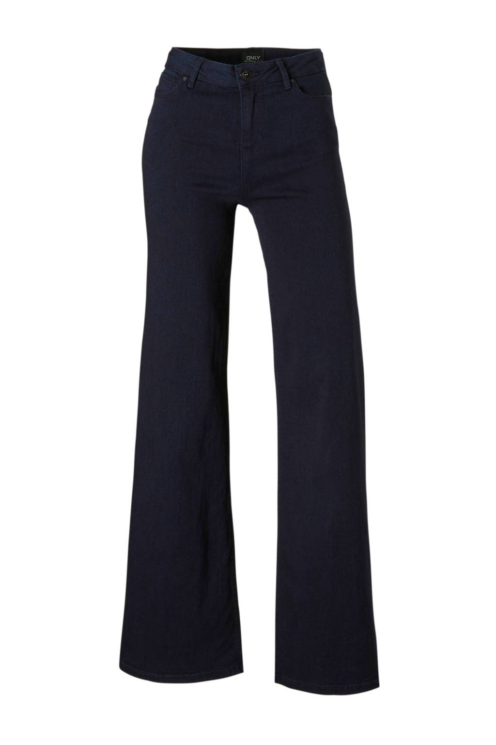 ONLY wide leg jeans, Donkerblauw