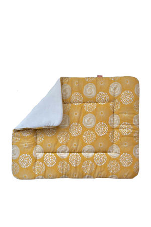 boxkleed 75x95 cm Sparkle Sweet honey/offwhite