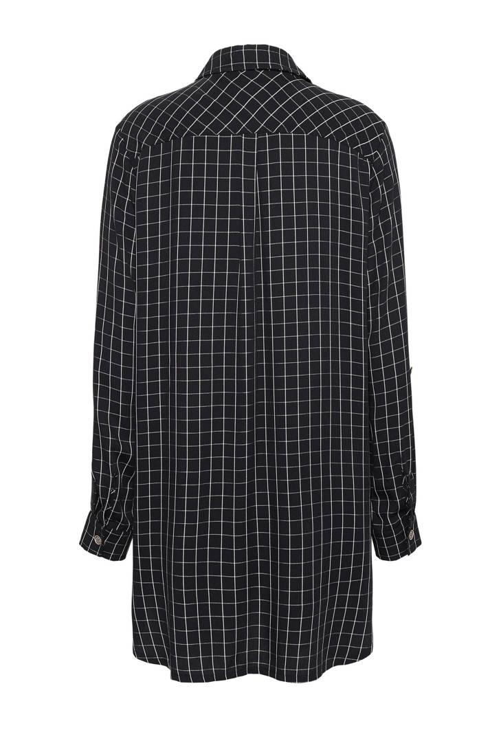 geruite geruite blouse blouse geruite Didi zwart blouse Didi zwart Didi qHtwdRq