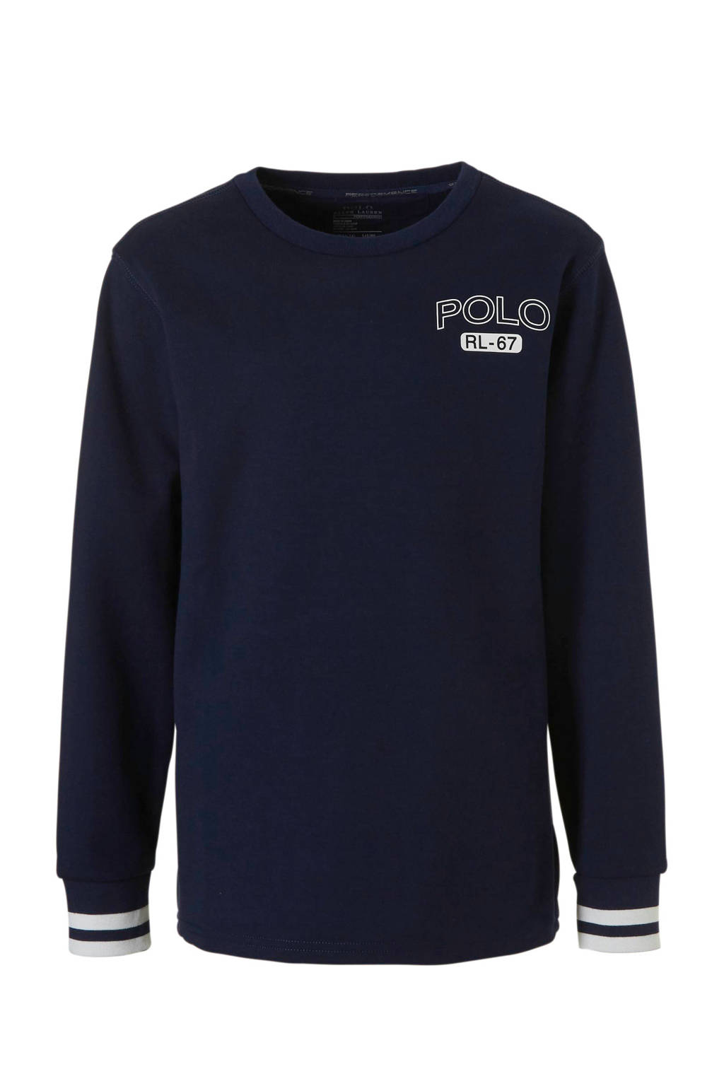 POLO Ralph Lauren sweater met print donkerblauw, Donkerblauw