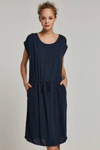OBJECT jurk donkerblauw, Donkerblauw