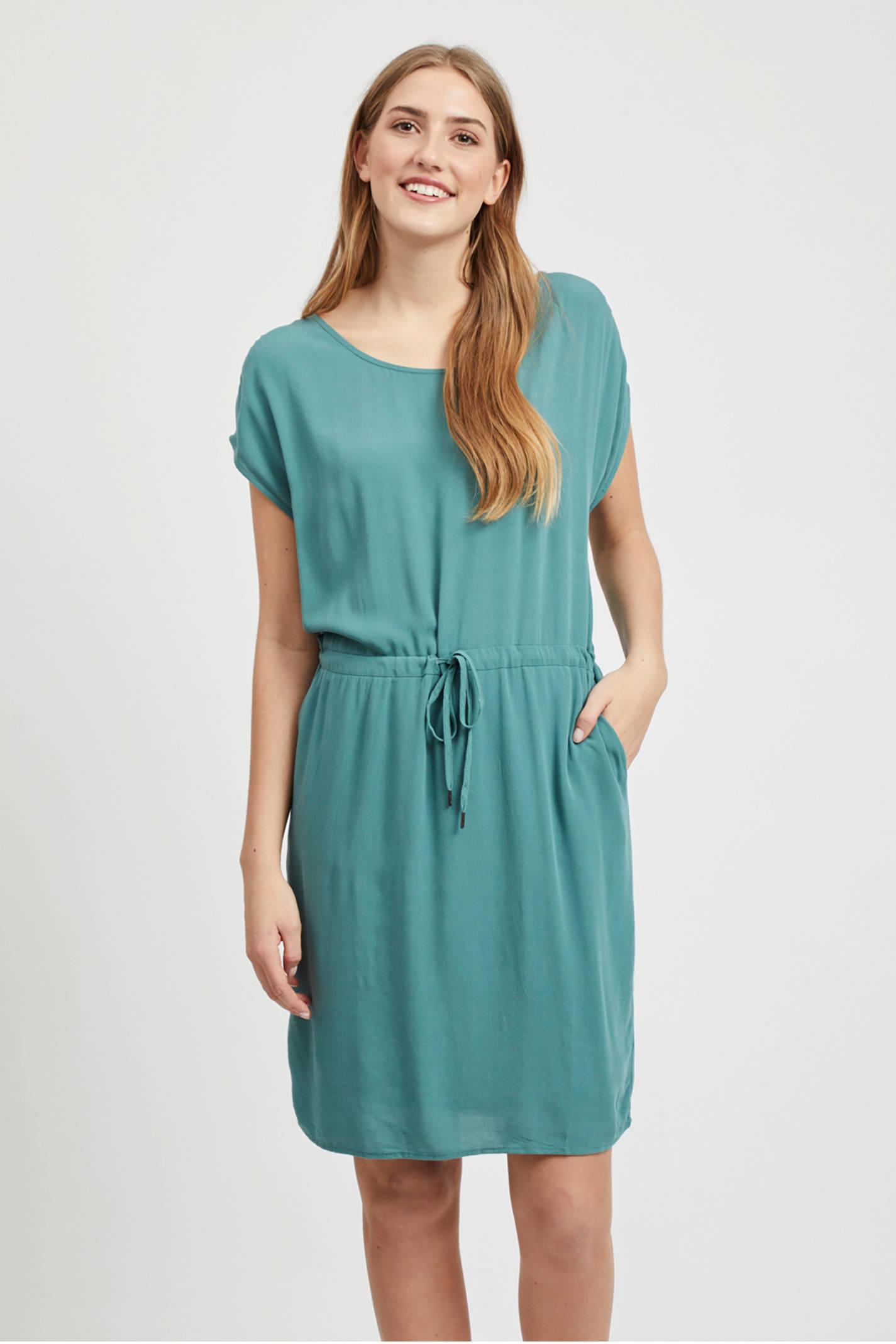 13b4310f8fab12 OBJECT jurk blauw