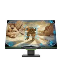 HP  27XQ monitor, Zwart