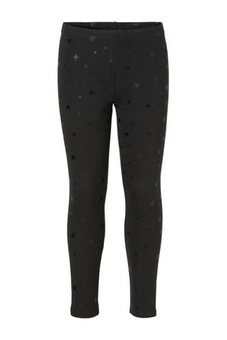 Here & There thermo legging met sterren zwart