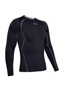 Under Armour   sport T-shirt zwart (heren)