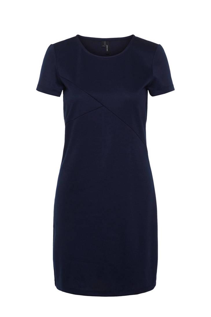 jurk donkerblauw jurk VERO MODA donkerblauw VERO MODA 44rT6W