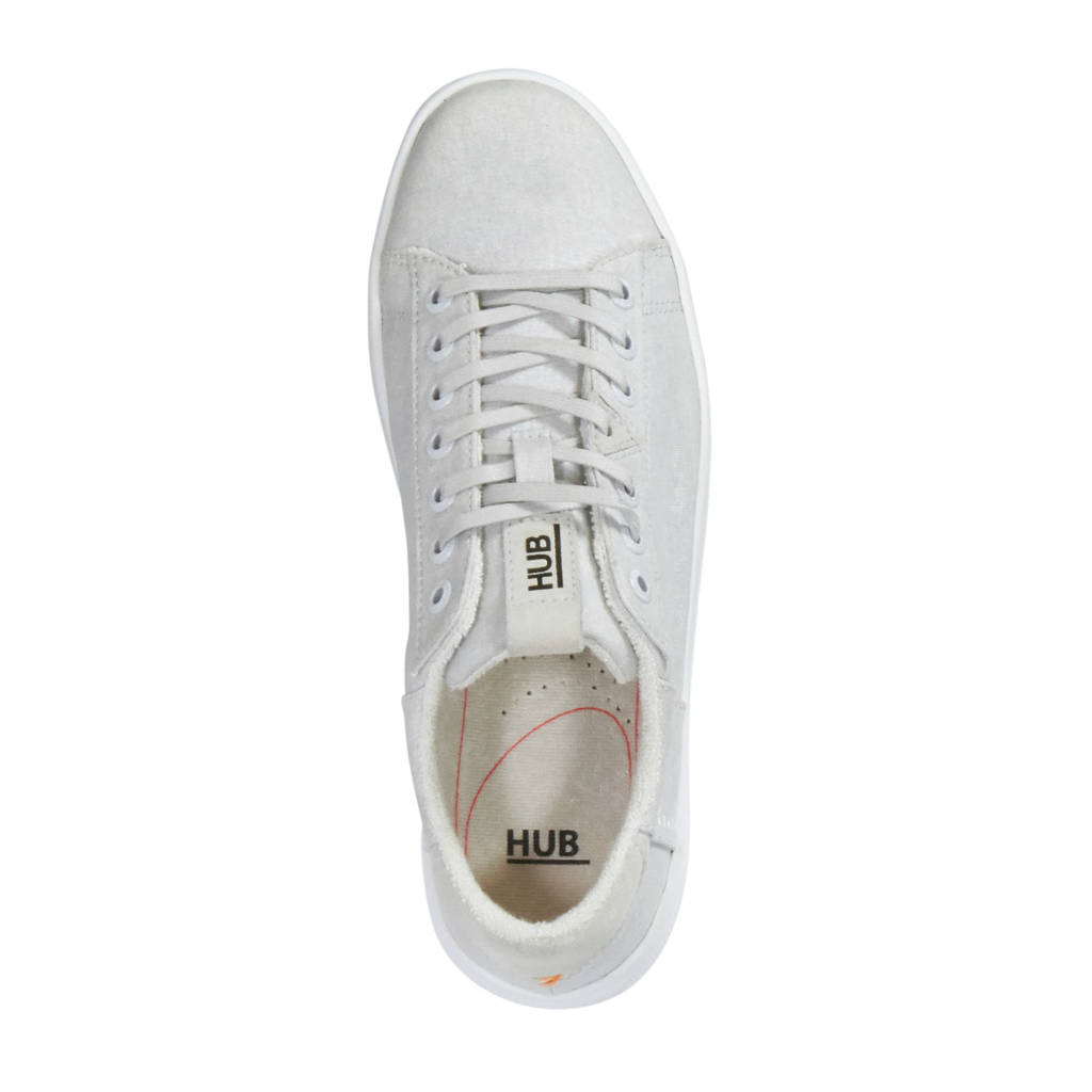 Hub Lichtgrijs Plateau Sneakers Hub Plateau Z6n0RqX0