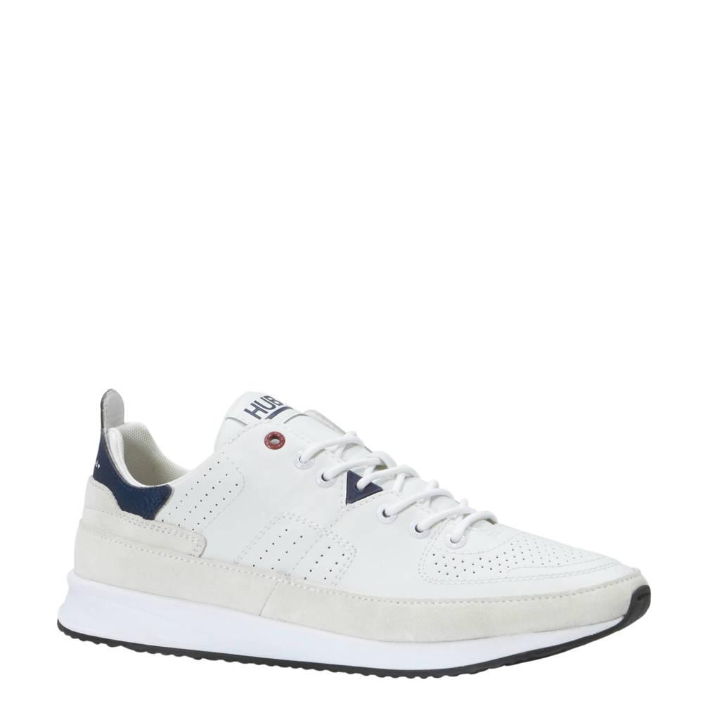 Hub  leren sneakers wit, Wit