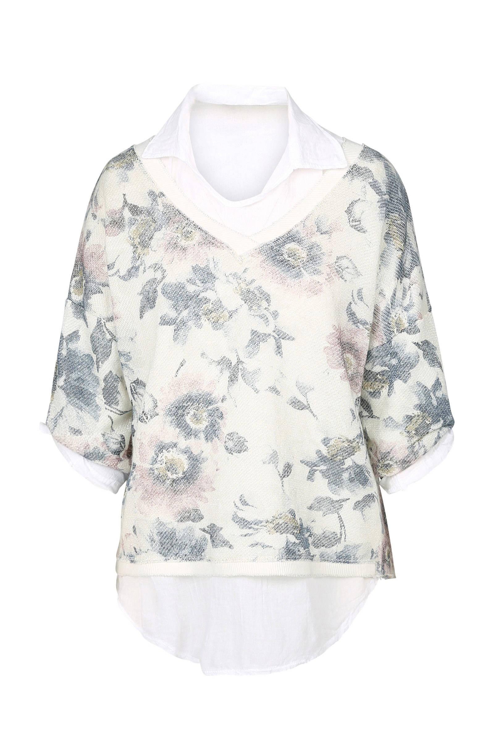 sweater bloemenprint dames