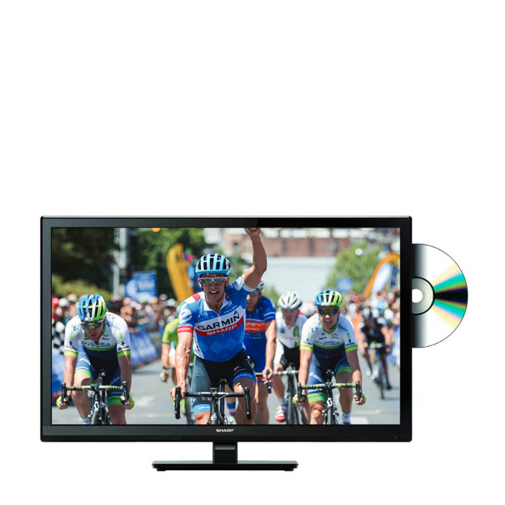 Sharp LC-24DHF4012E HD Ready tv met ingebouwde DVD speler