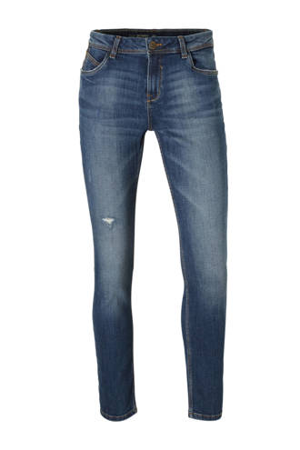 The Denim skinny jeans met slijtage details