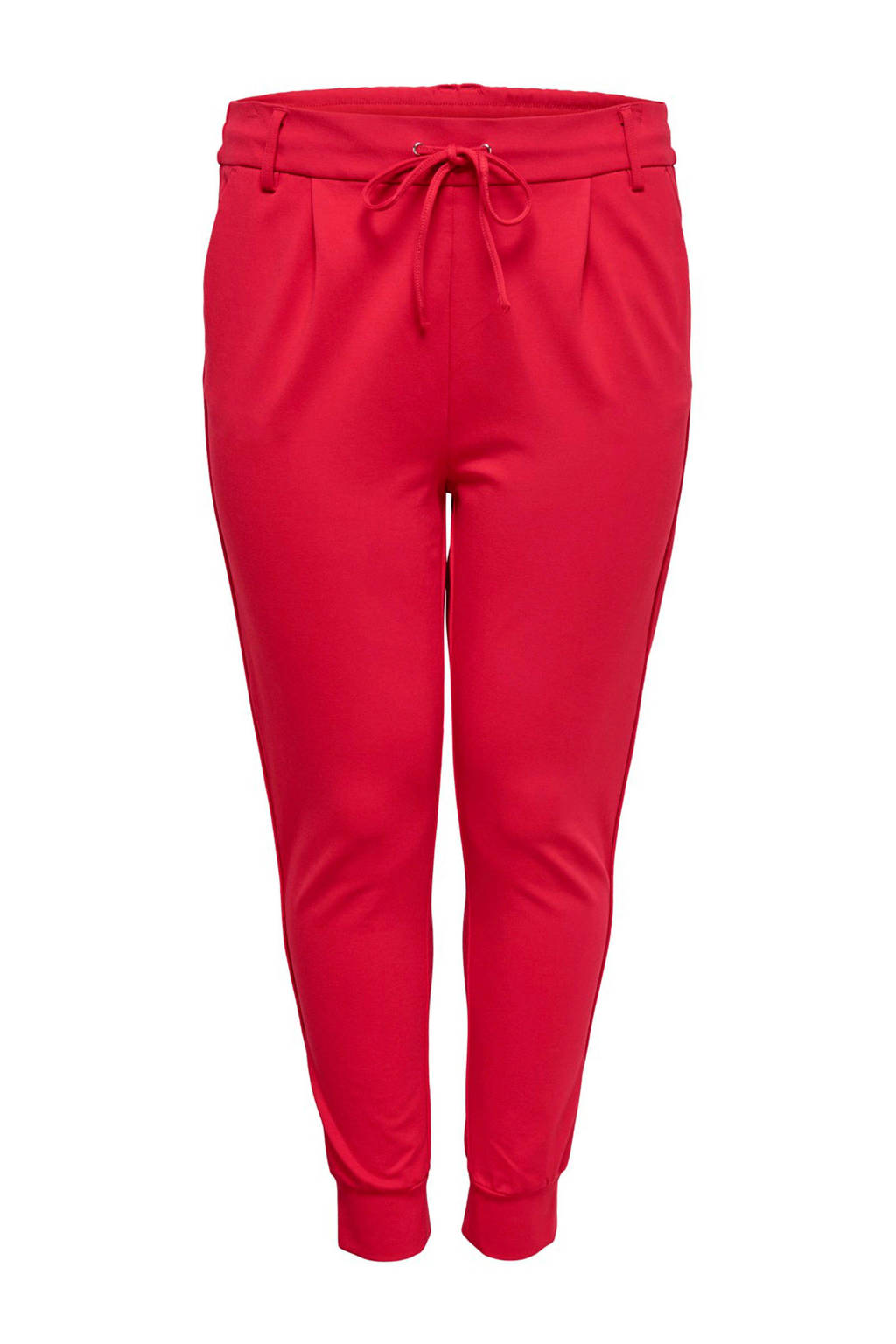 ONLY carmakoma sweatpants rood, Rood