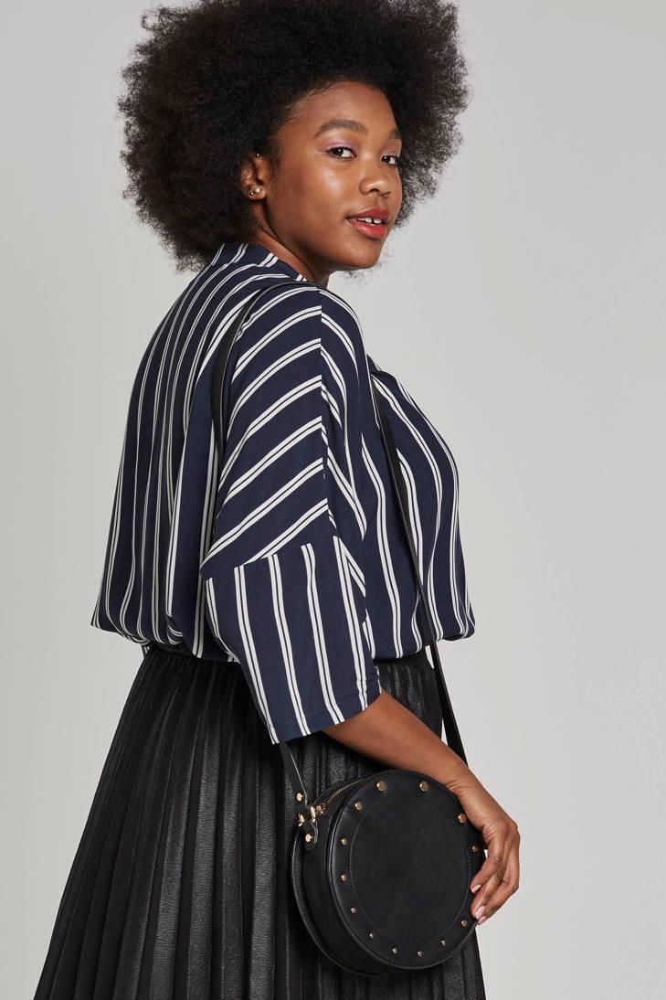 blouse met ONLY carmakoma blouse ONLY strepen carmakoma qzwIxXv0xU