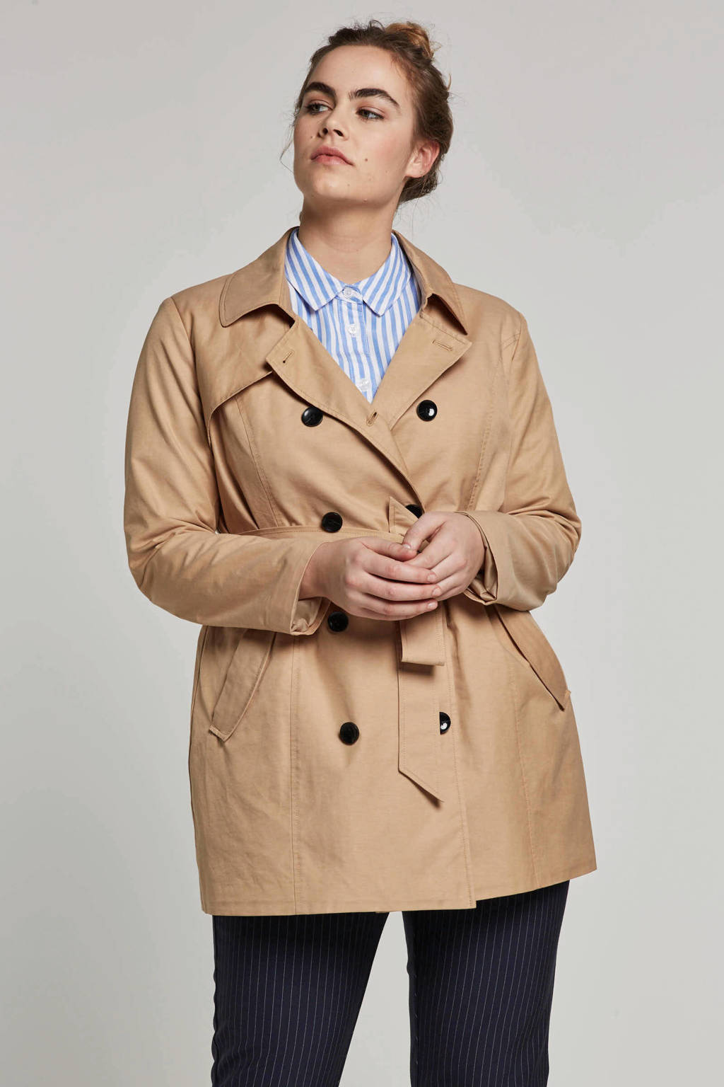 ONLY CARMAKOMA trenchcoat, Beige