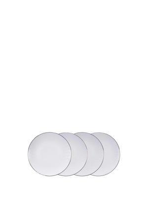 Nippon White dinerbord (Ø30 cm) (set van 4)