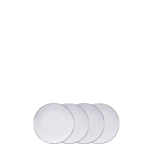 Tokyo Design Studio Nippon White ontbijtbord (Ø25 cm) (set van 4) kopen