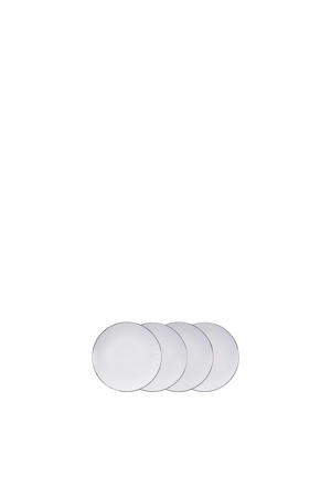 Nippon White gebaksbord (Ø19 cm) (set van 4)