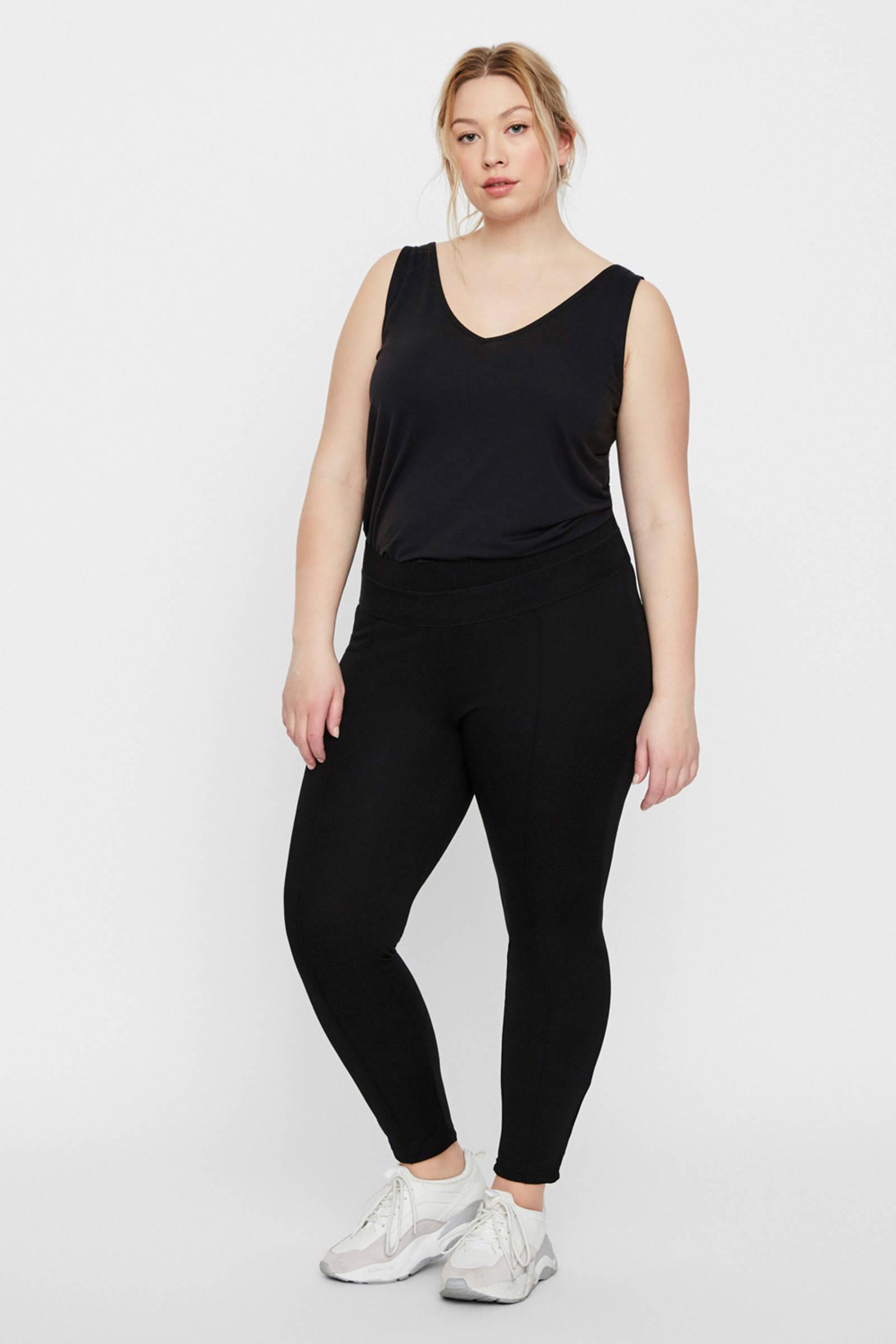47fb507ffef JUNAROSE legging zwart | wehkamp
