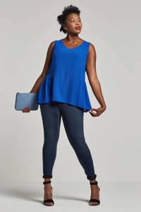 JUNAROSE skinny jeans, Donkerblauw
