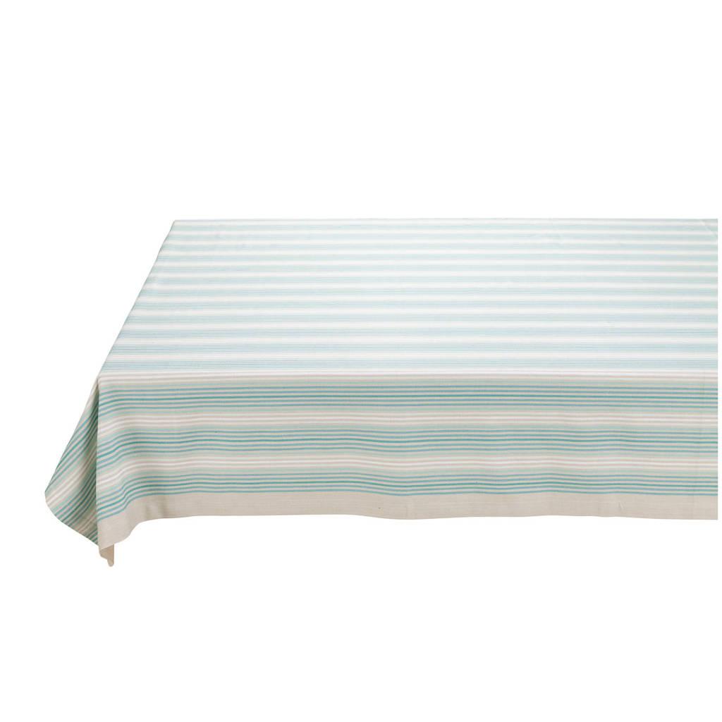 Pip Studio tafelkleed (150x250 cm), Lichtblauw/wit