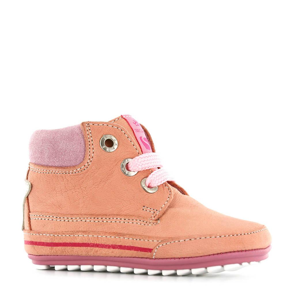 Shoesme leren babyschoenen roze, Roze