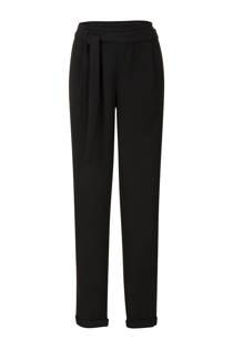 Miss Etam Lang pantalon met tapered fit zwart (dames)