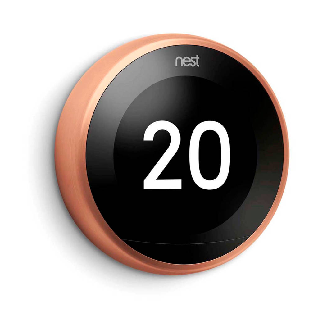 Nest  thermostaat 3RG GEN Copper, Koper
