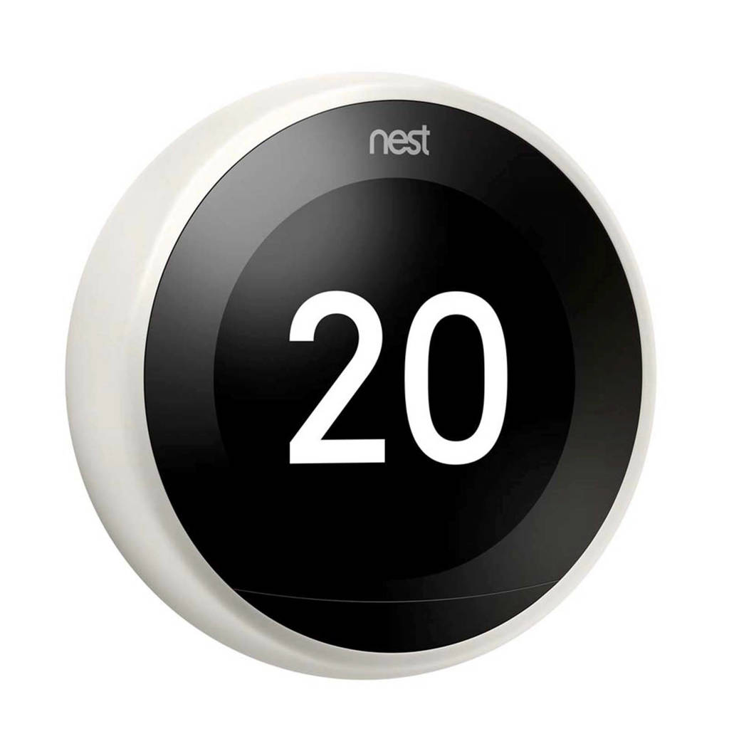 Nest  thermostaat 3RG GEN White, Wit