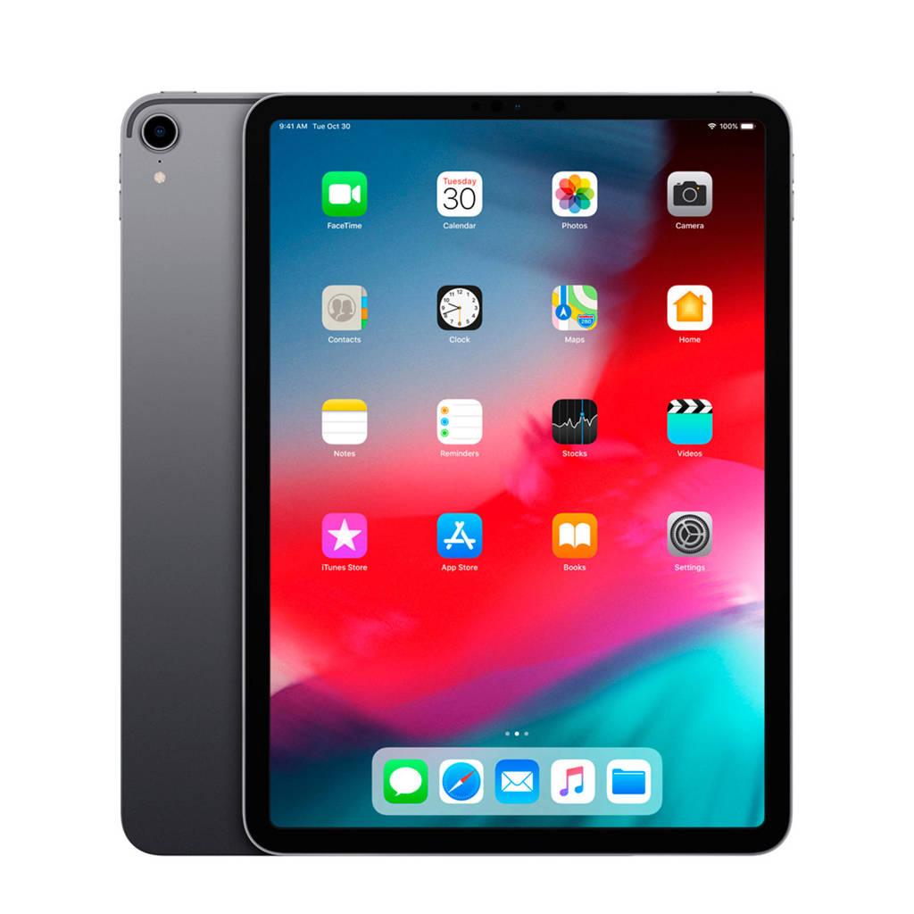 Apple iPad Pro 11 inch 512GB grijs, Nee