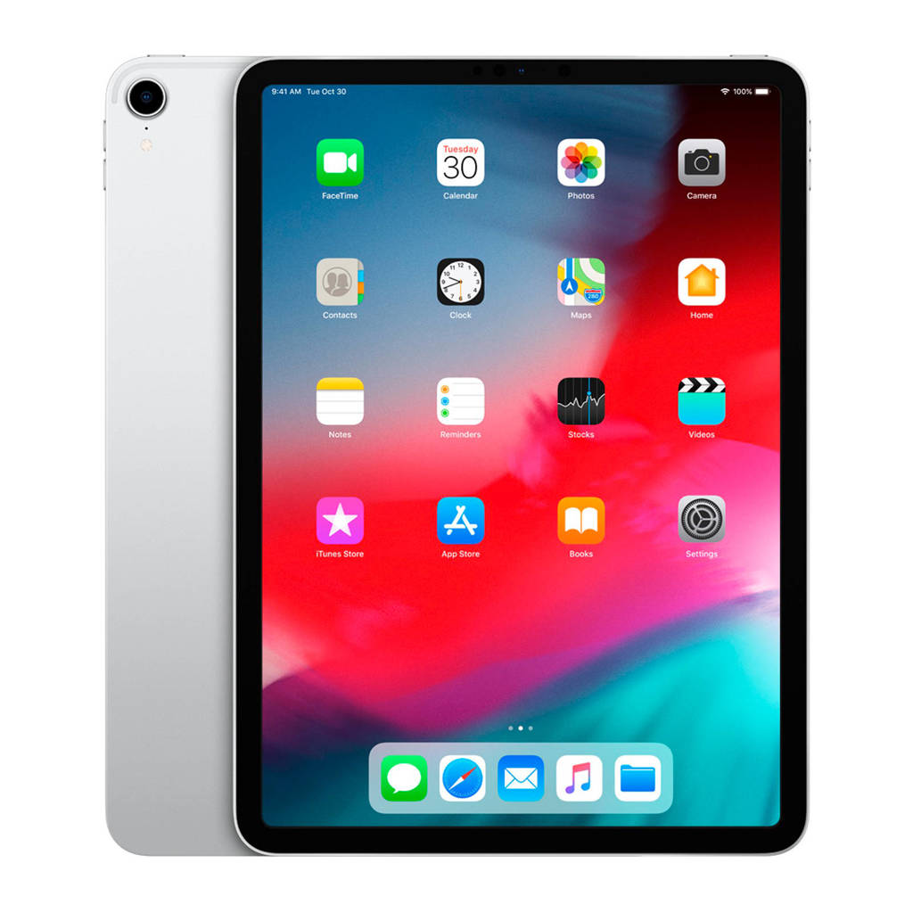 Apple iPad Pro 11 inch 256GB zilver, Zilver