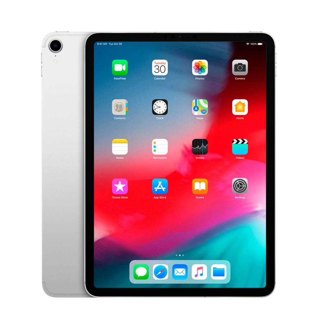 Apple iPad Pro 11 inch 4G 1TB zilver, Zilver, 1000