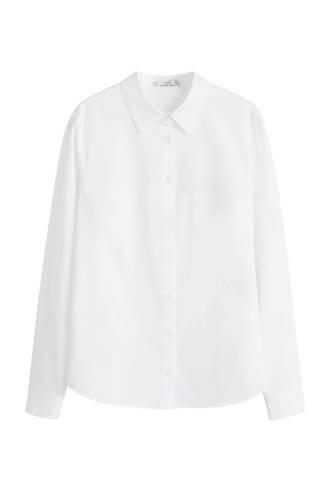 katoenen blouse wit